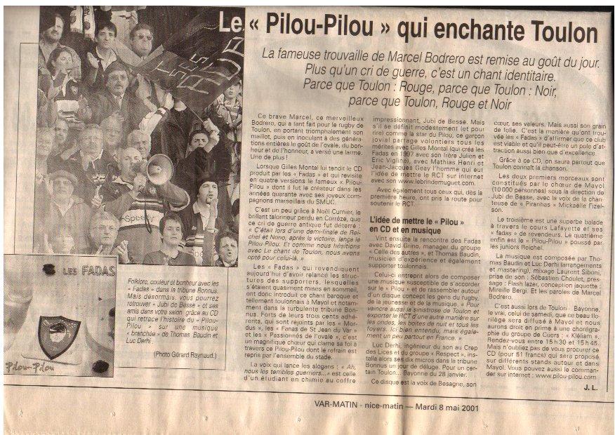 pilou marcel 2001
